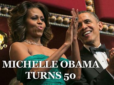 Michelle Obama's 50th Birthday Celebration