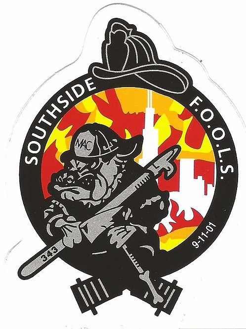 SouthSide F.O.O.L.S. Window Decal
