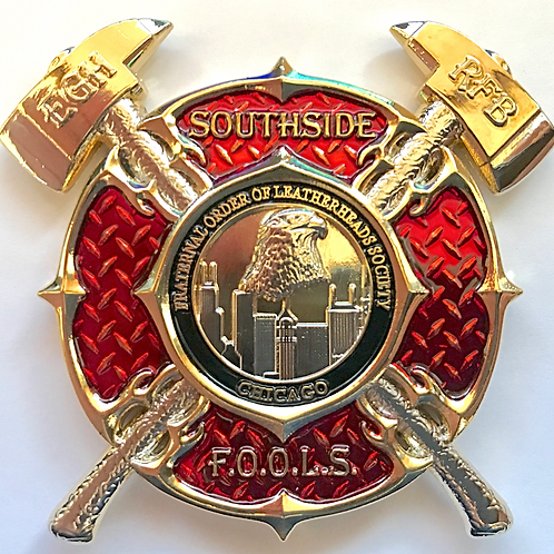 SouthSide Limited Edition Run Challenge Coin