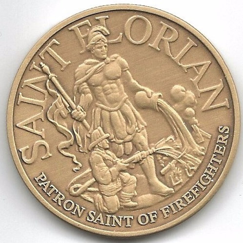 St. Florian Challenge Coin