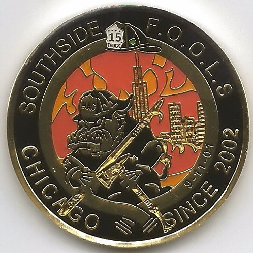 SouthSide F.O.O.L.S. Challenge Coin