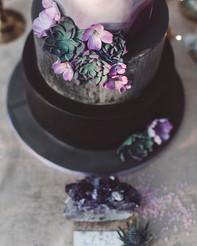 Wedding cake e suculent