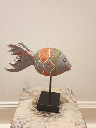 Fish Decor On Stand