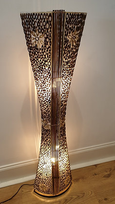 Palm & Bamboo Floor Lamp
