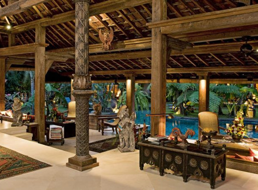 Interior Design and Balinese Decoration, Inspiration Of Nature