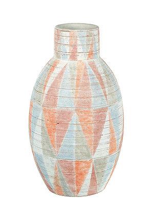 Vase Orange/Punk/Blue