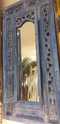 Blue Window Mirror