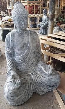 Rustic medidating Buddha
