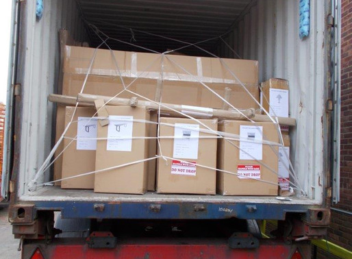 OUR CONTAINER OF NEW FAR EASTERN FURNITURE STOCK