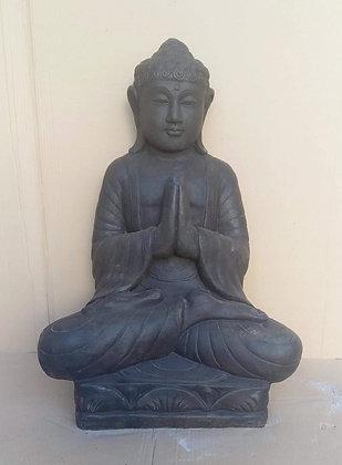 Stone Praying Buddha