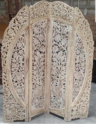 Carved Wooden Ornate Room Divider