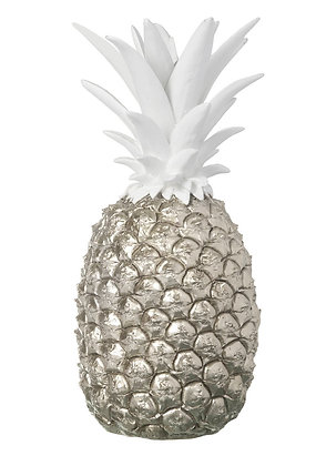 Pineapple Silver/White