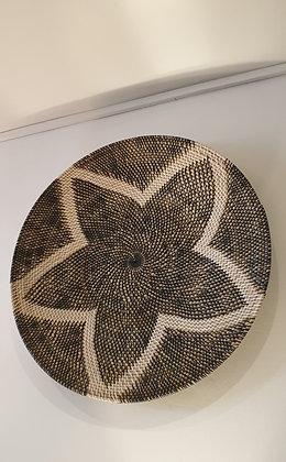 Round Rattan Wall Art