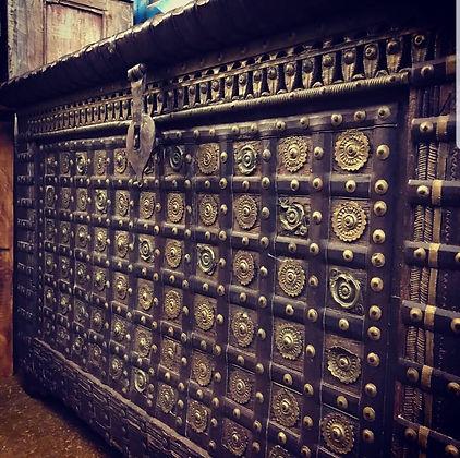 Antique Indian chest