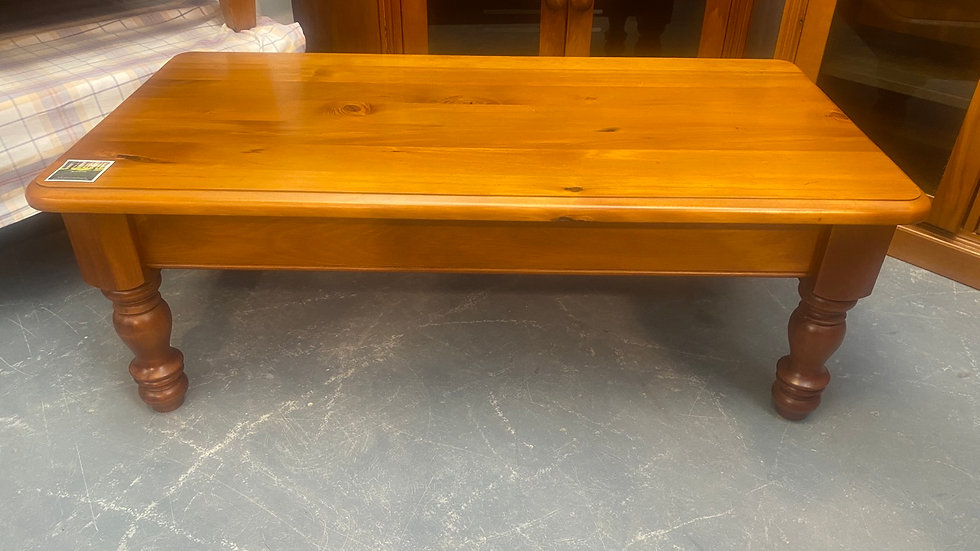 Solid rimu rectangle coffee table!