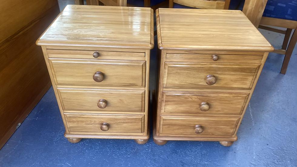 Millbrook ormlie solid rimu bedsides drawers!