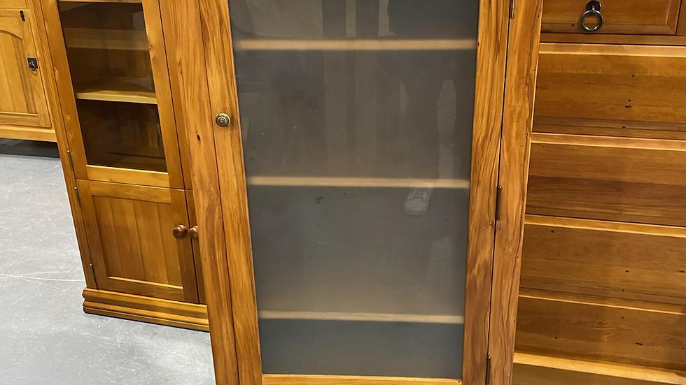 Solid rimu stereo/ storage cabinet!