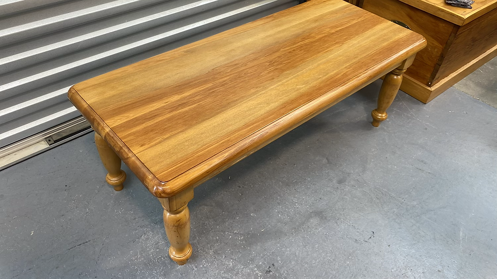Solid rimu coffee table!