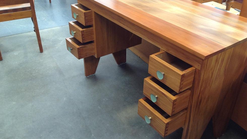 Solid Rimu Small Desk
