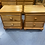 Thumbnail: Solid rimu 2 drawer bedsides with sliding tray