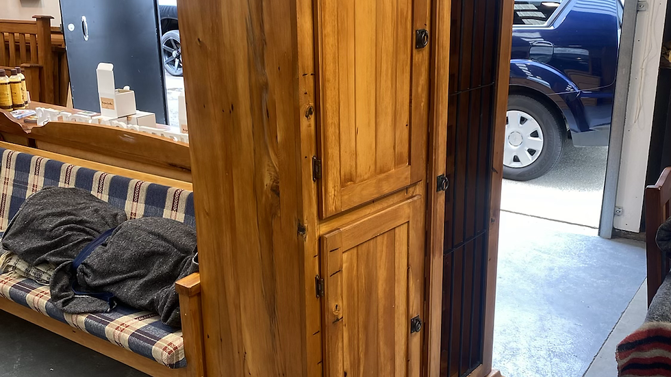 Large solid rimu drinks cabinet!