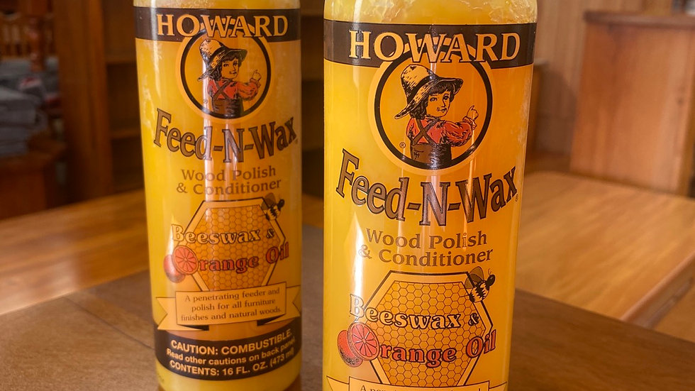 Howard's feed-n-wax!