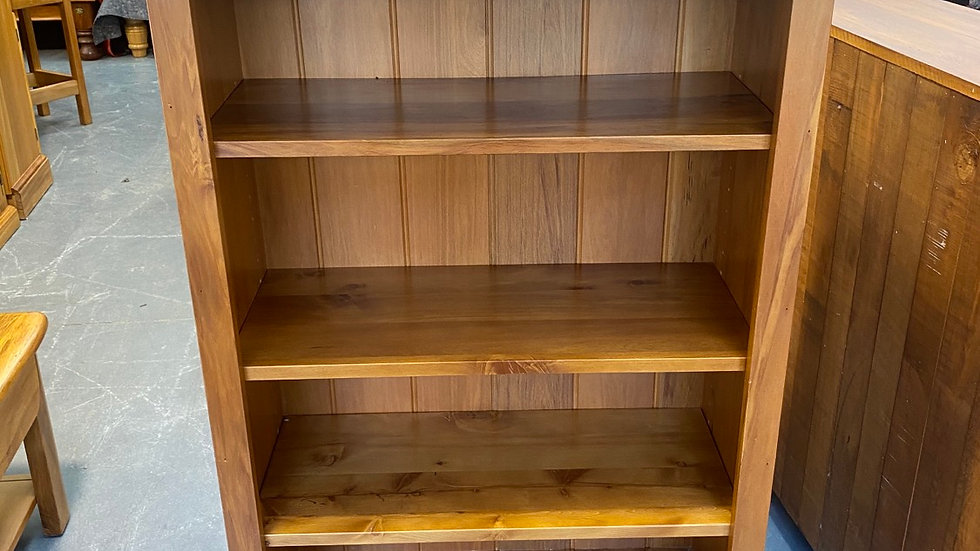 Woodpeckers solid recycled rimu bookcase!