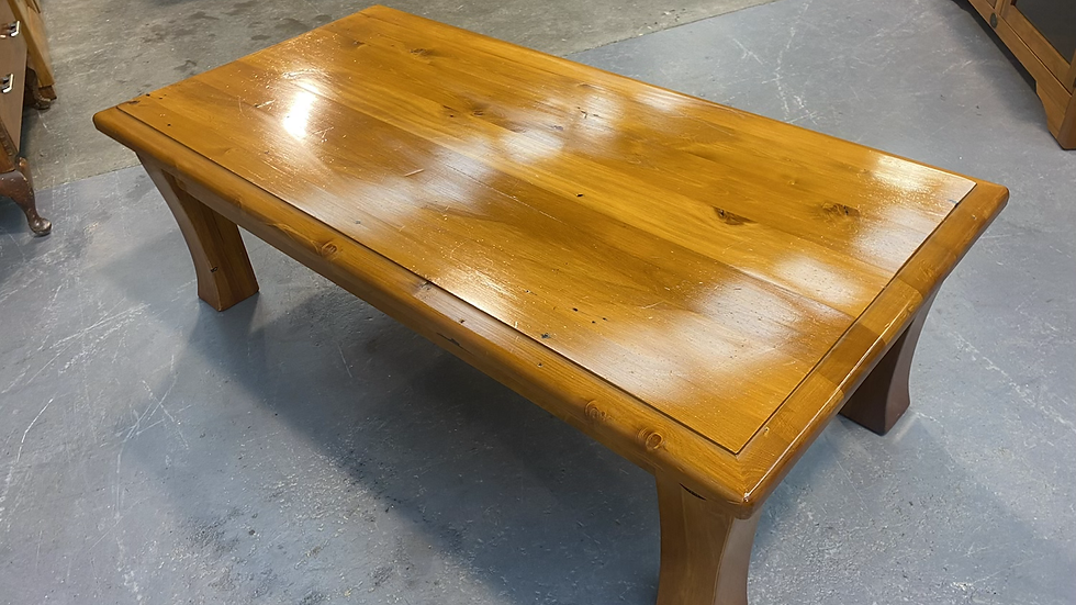 Woodpecker solid recycled rimu coffee table!