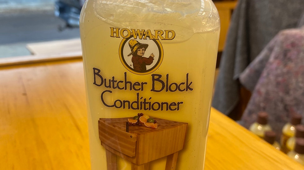 Howard's butcher block conditioner