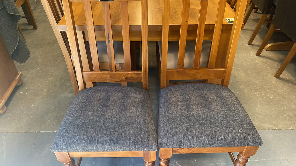 Woodpecker solid rimu chairs!