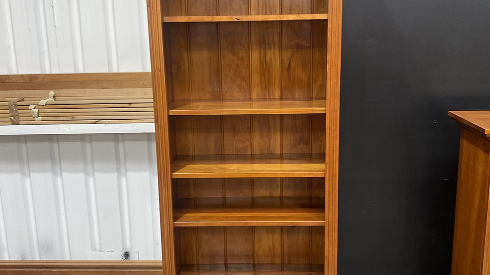 Woodpecker solid recycled rimu bookcase!
