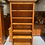 Thumbnail: Woodpecker solid recycled rimu bookcase!