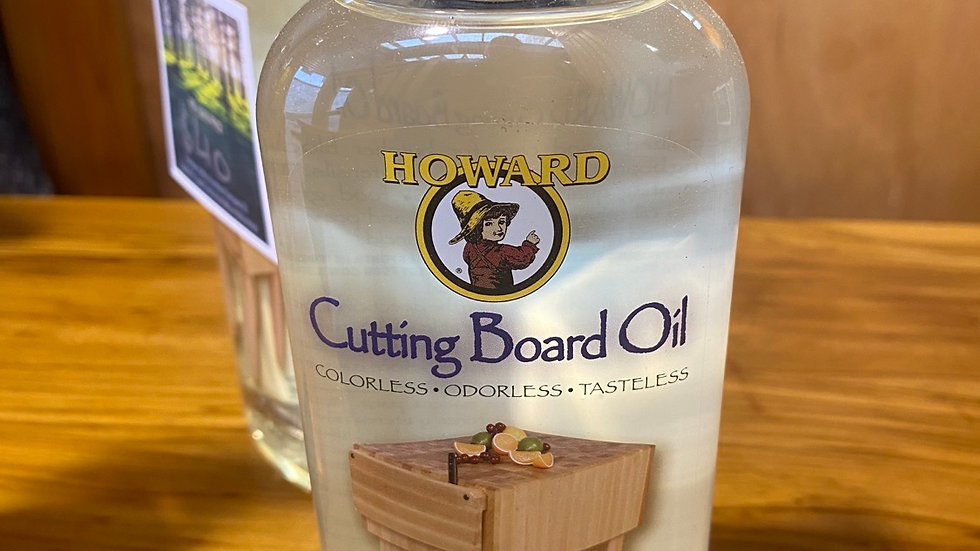 Howard's cutting board oil!