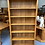 Thumbnail: Solid rimu bookcase with fixed shelves