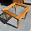 Thumbnail: Solid rimu side table with glass insert chest set!