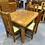 Thumbnail: Woodpecker solid recycled rimu 5pcs dining suite!