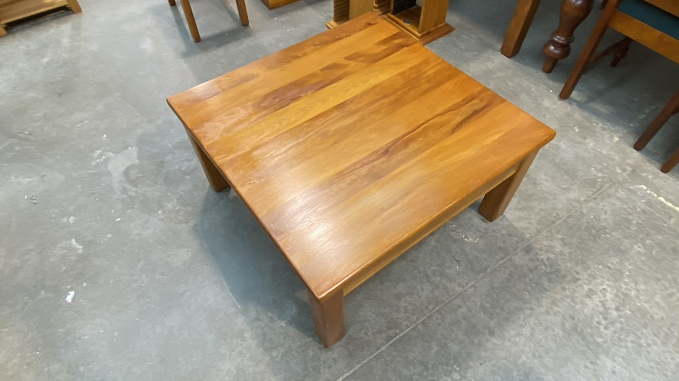 Solid rimu 800 x 800 coffee table!