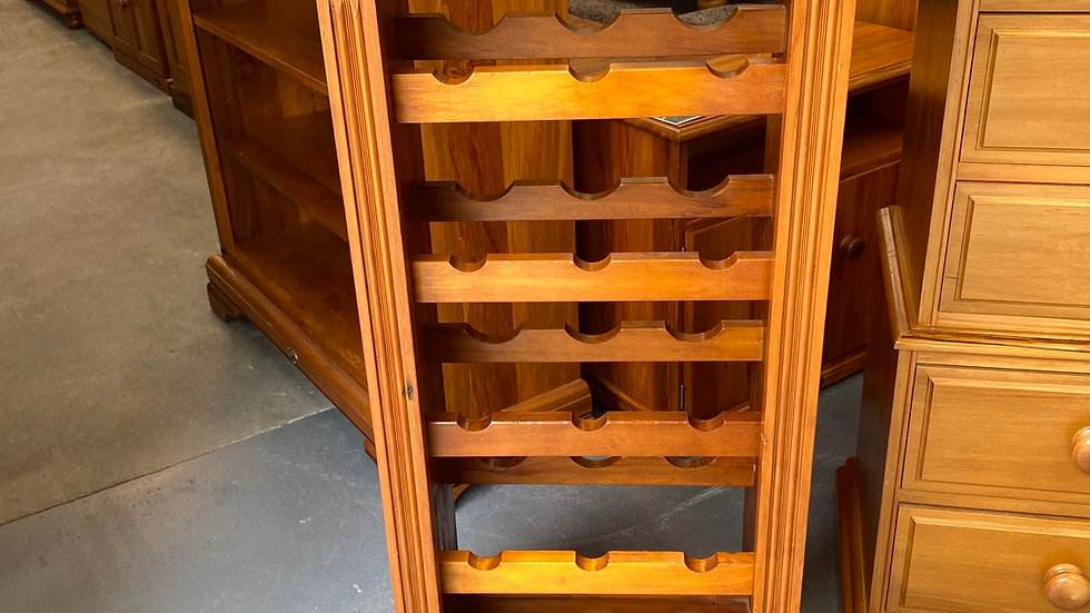 Woodpecker 15 Bottle Recycled Rimu Wine Rack