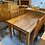 Thumbnail: Woodpecker solid recycled rimu 5pcd dining suite!
