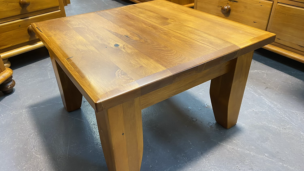 Woodpecker solid recycled rimu side table!