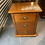 Thumbnail: Willetts Silver Beech / Rimu Stain 3 drawer Villa bedside!