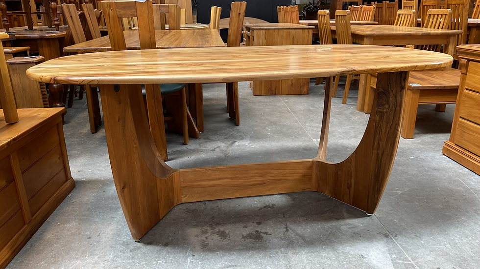 Solid heart rimu aiku dining table only!
