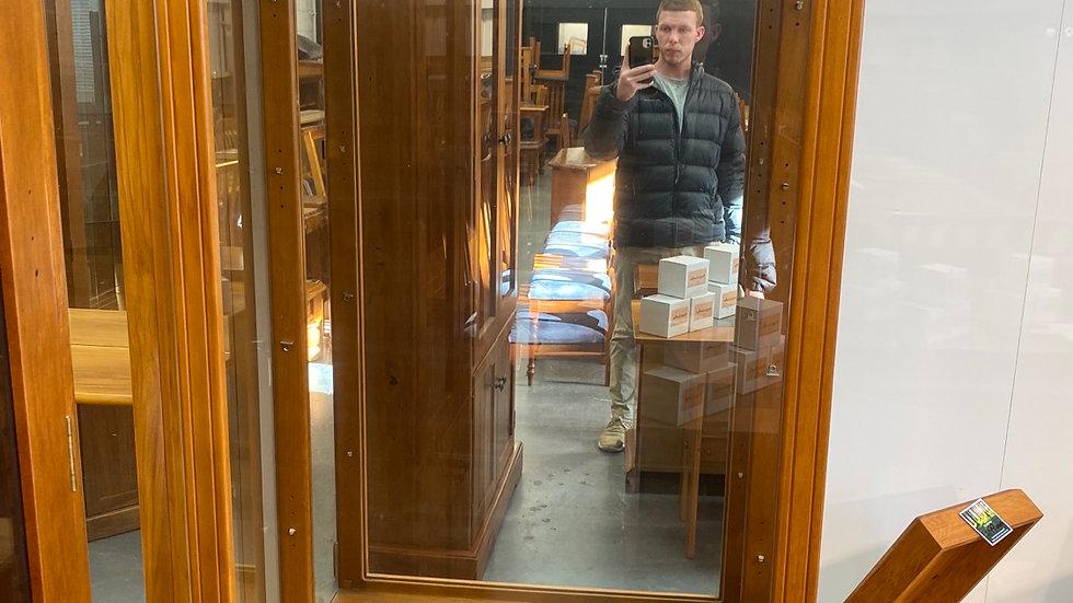 Solid rimu display cabinet!