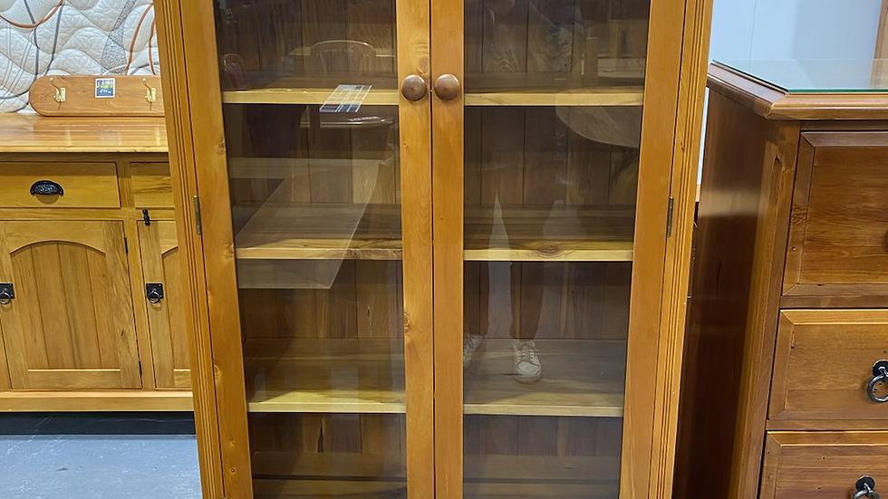 Solid rimu classicwood display cabinet!