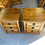 Thumbnail: Woodpecker solid recycled rimu 3 drawer bedsides with slide!
