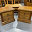 Thumbnail: Blayco solid rimu 2 drawer bedsides!