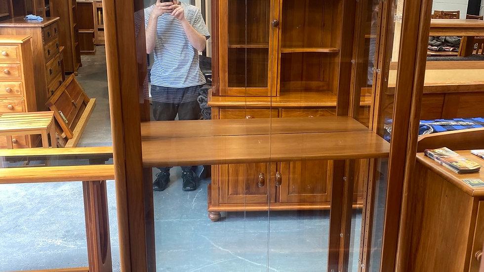 Danske Mobler solid rimu display cabinet!