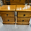 Thumbnail: Woodpecker solid recycled rimu 2 drawer bedsides