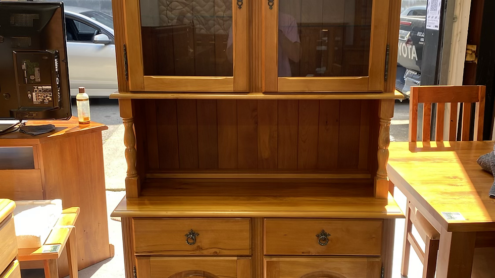 Russell's Winchester solid rimu 2 bay buffet!