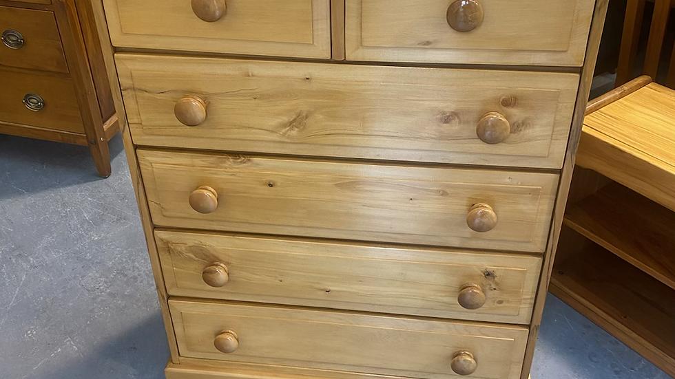 A S De Bruin rimu 6 drawer tall boy!